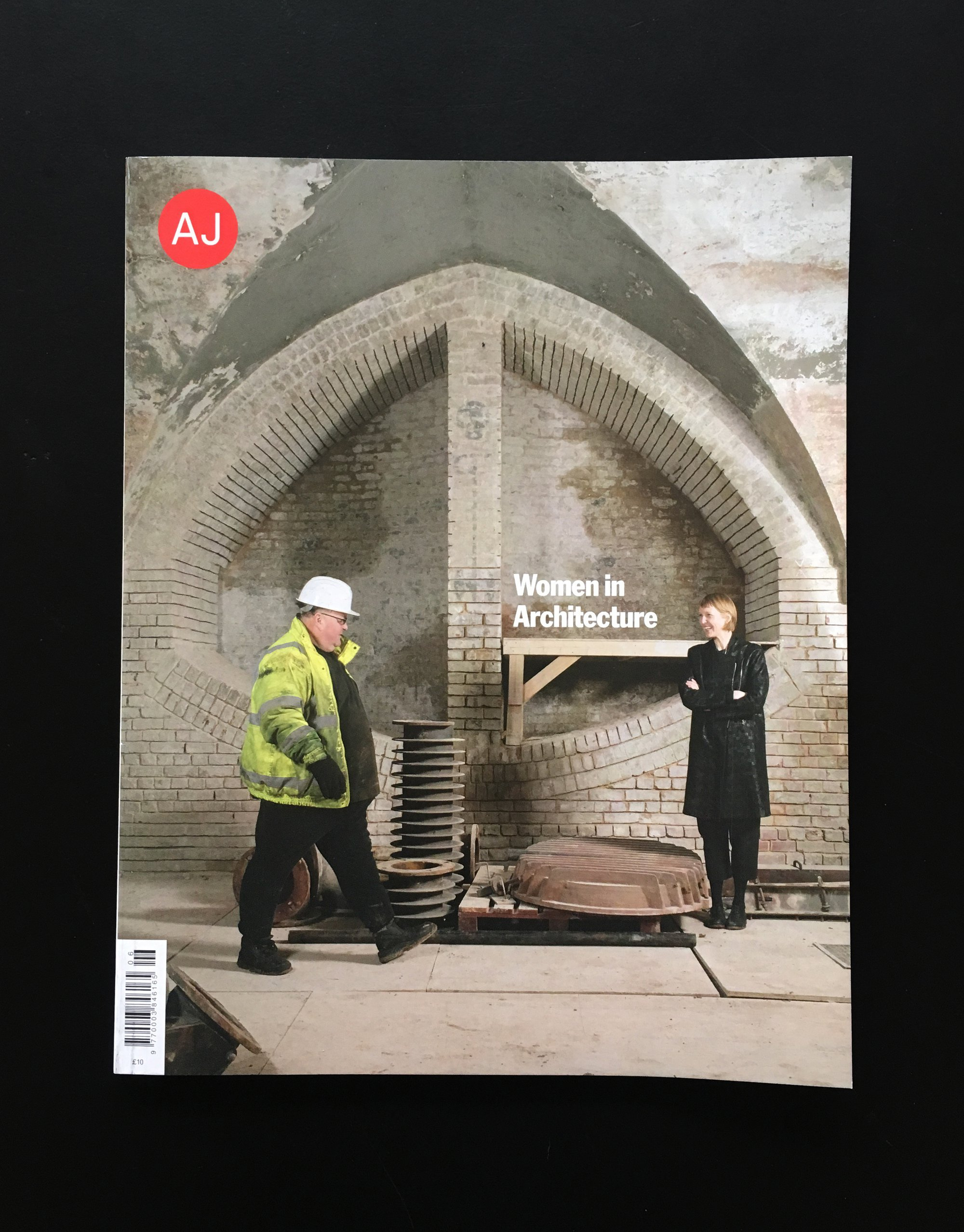 The Architects Journal Has Published Our St Mary Magdalene Project And An Interview With Biba In Their Women Architecture Issue